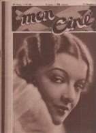 MON CINE 31 12 1931 - MYRNA LOY - PHILIPPE HERIAT - JEAN TOULOUT - CLARA BOW - FIGURANTS HOLLYWOOD - DOROTHY MACKAILL - Cinéma/Télévision