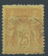 Lot N°24472   N°92, Oblit Cachet à Date De LA BOURBOULE - 1876-1898 Sage (Type II)
