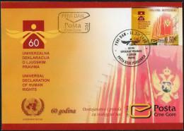 Montenegro 2008 Human Rights Declaration FDC - Montenegro