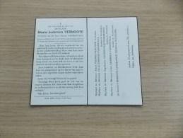Doodsprentje Maria Ludovica Vermoote Koksijde 10/7/1878 Veurne 8/2/1962 ( Hector Vanneuville) - Religion & Esotericism