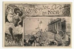 NICE - LE CARNAVAL - Tartarin En Afrique - Belle  Edtition T Olive. - Carnival