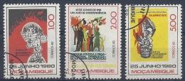 140010597  MOZAMBIQUE  YVERT  Nº  753/754/757 - Mosambik