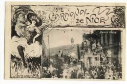 NICE - LE CARNAVAL -   La Vie Chère  - Belle  Edtition T Olive. - Carnival