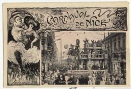 NICE - LE CARNAVAL -   Au Revoir  - Belle  Edtition T Olive. - Carnival