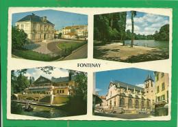 FONTENAY    - IMAGES DE FRANCE DIVERS ASPECTS DE LA VILLE   ( 4 VUES ) - Fontenay Sous Bois