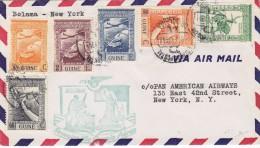 Port.Guinea - Erstflug Bolama - New-York Panam - 6.02.41 - - Guinée Portugaise