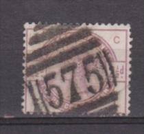 Engeland United Kingdom, Great Britain, Angleterre, Queen Victoria, MICHEL 75 SG 190, Y&T 79 Nice Cancel 575 - 1840-1901 (Victoria)