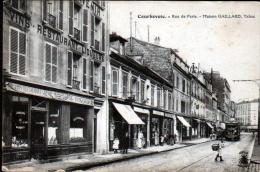 92 - COURBEVOIE - RUE DE PARIS - MAISON GAILLARD, TABAC - Courbevoie