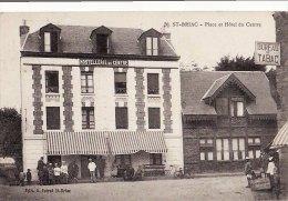 SAINT-BRIAC (35) / COMMERCES / HOTELS / RESTAURANTS / HOSTELLERIE DU CENTRE / Place Et Hôtel Du Centre / Animation - Saint-Briac