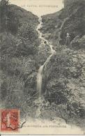 Fontanges  -  Cascade De Cuzols  -  Cachet Poste Septembre 1907 - Other Municipalities