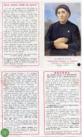 Santino Depliant SERVA DI DIO MAMMA ROSA BARBAN Con RELIQUIA (Ex Indumentis) - G16 - Religion & Esotérisme
