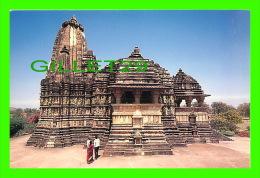 KHAJURAHO, INDIA - DEVI JAGDAMBI TEMPLE -  PHOTO, PANKAJ SHAH - - Inde
