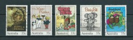 1985 Australia Complete Set Children Books Used/gebruikt/oblitere - 1980-89 Elizabeth II