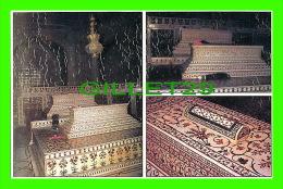 NEW DELHI, INDIA - DIFERENT VIEWS OF CENOTAPHS OF EMPEROR SHAH JAHAN & MUMTAJ MAHAL - AJOOBA CARDS - - Inde