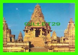 KHAJURAHO, INDIA - LAKSHMANA TEMPLE BUILT IN 930-950 BY YASHOVARMAN - INDICA CARDS - Inde