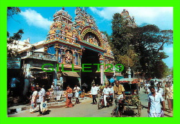 MADURAI, SOUTH INDIA -  MODERN CITY ENTRANCE TO THE MEENAKSHI TEMPLE - PHOTO, V.B. ANAND - VISUAL PICTURE POST CARDS - - Inde