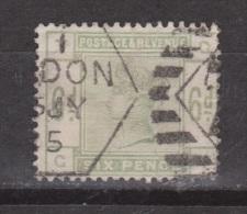 Engeland United Kingdom, Great Britain, Angleterre, Queen Victoria, SG 194 Y&T 83, MICHEL 79 - 1840-1901 (Victoria)