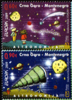 Montenegro 2009 Europa CEPT, Astronomy, Set MNH - Europa-CEPT