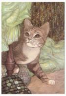 """CPM - CHATS - Illustrateur """"LE PERE"""" - 4 Cartes Différentes éditions Decoreve - Cats"""