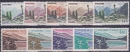 LOT 234  ANDORRE N°158 à 164  ** - Unused Stamps