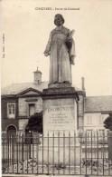 CHAULNES  -  Statue De Lhomond - Chaulnes
