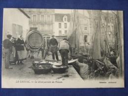 LE CROISIC Le Débarquement Du Poisson 1923 - Le Croisic