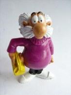 FIGURINE CUBITUS 1988 YOLANDA le professeur