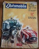 L´ Automobile Juin 1950 ; Assez Bon état. 32 Pages Lancia Aurelia Double Page ; Citroën Traction 11 Et 15 - Auto