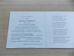 Doodsprentje Desideer Cornelis Oostduinkerke 28/12/1908 - 1/8/1997 ( Rachella Goderis) - Religion & Esotericism