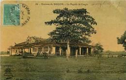 ENVIRONS DE SAÏGON . LA PAGODE DE CANGIO . - Viêt-Nam