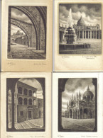 BELLINI TRIESTE - MILANO - TRENTO - VENEZIA - SIENA - ROMA - ASSISI 34 CARTOLINE DIVERSE C.1208-1209 - Cartoline