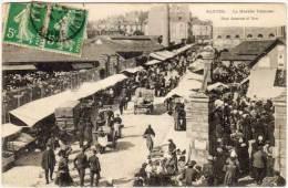 NANTES - Le Marché Talensac - Rue Jeanne D´ Arc  -  ... (63684) - Nantes