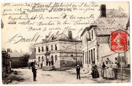 VENDHUILE LA MAIRIE TRES ANIMEE 1907 - Ohne Zuordnung