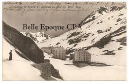 Suisse - L'Hospice Du GRAND SAINT-BERNARD Au Pied Du Mont Mort ++++ Vers BOSTON, MA, USA, 1907 ++++ A. Trüb & Cie ++++ - VS Valais