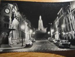 VERDUN La Nuit Avenue De La Victoire Et Monument - Verdun