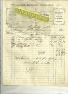 38 - Isère - MEYZIEU - Facture BOUVIER - Scierie Mécanique – 1923 - Frankreich