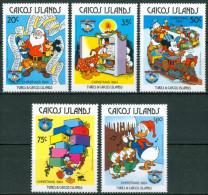 1984 Isole Cocos Walt Disney Set MNH** -W - Isole Cocos (Keeling)
