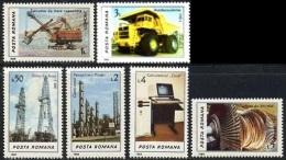 ROMANIA 1986  Industry    Mi. 4306/11 Serie Cpl.6v. Nuovi** Perfetti - Nuevos