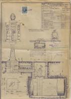 SHELL NAFTA GENOVA IMPIANTO DI SICUREZZA 08 02 1932 C.1453 - Opere Pubbliche