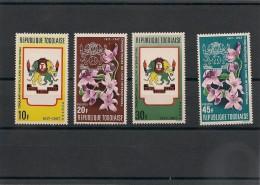 TOGO  Année  1967 N°Y/T: 539/542** - Togo (1960-...)