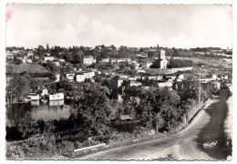 CP, 86, L'ILE-JOURDAIN, Vue Générale, Vierge - L'Isle Jourdain