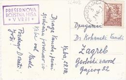 SL402   --  VRBA  --  CERKVA SV. MARKA  --  SONDERSTEMPEL - Slovenia