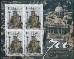 2009 Gibilterra, Foglietto Nostra Signora D'Europa, Congiunta Con Il Vaticano, Nuovo (**) - Emissioni Congiunte