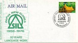 PAPOUASIE-NOUVELLE GUINEE. Enveloppe Commémorative De 1976. Linguistique. - Talen