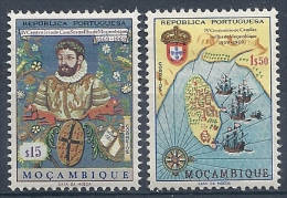 140010636  MOZAMBIQUE  YVERT  Nº  544/546  */MH - Mosambik
