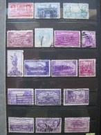 Timbres Etats-unis : 1934 - 1938 - Usados