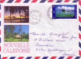NOUVELLE CALEDONIE - CACHET POYA AN NEPOUI LE 1-8-1991. - Briefe U. Dokumente