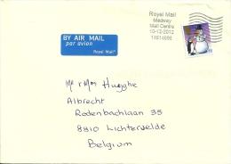 UK 2012 Medway Mail Centre / Noël Kertsmis Christmas Pinguin - 1952-.... (Elizabeth II)