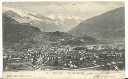 J:   Savoie  :  ALBERTVILLE  : Vue - Albertville