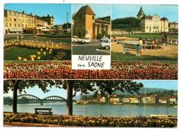 CP, 69, NEUVILLE SUR SAONE, écrite, Voyagé En 1986, Edition Cellard - Neuville Sur Saone